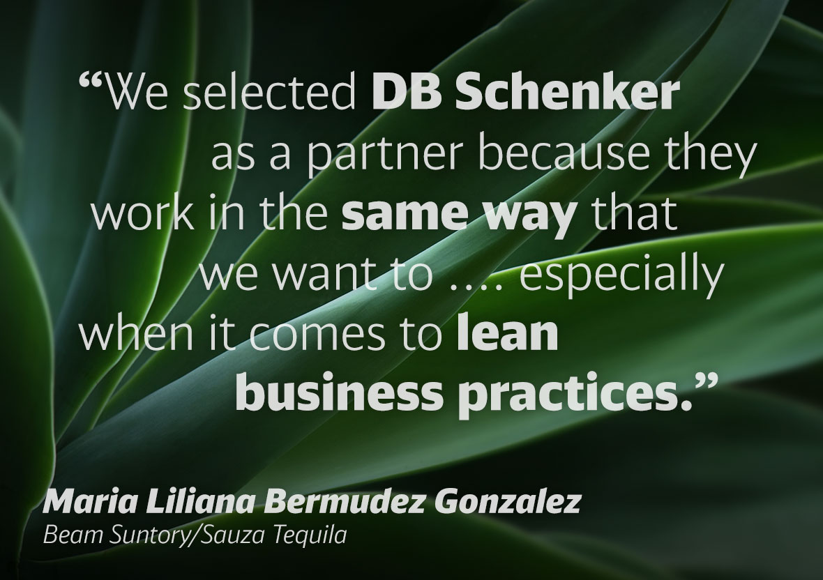 """We selected DB Schenker as a partner because they work in the same way that we want to ... especially when it comes to lean business practices."""