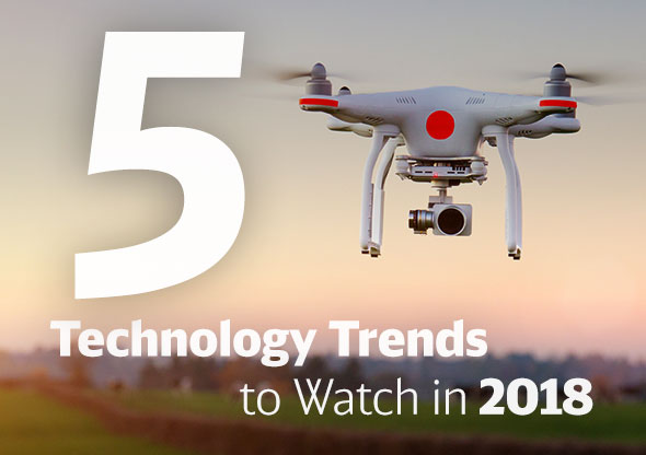 5 Tech Trends for 2018