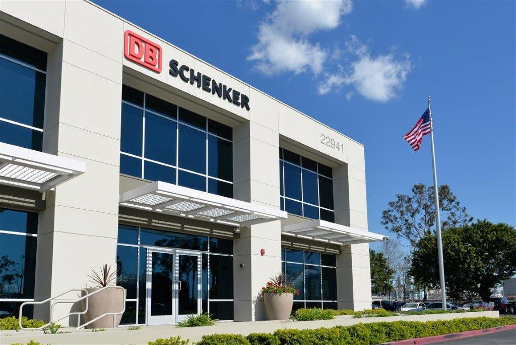 DB Schenker FTZ facility located in Carson, CA