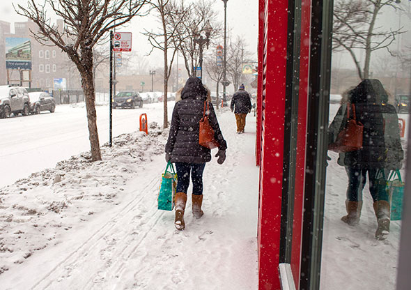 Winter weather could impact the holiday season.