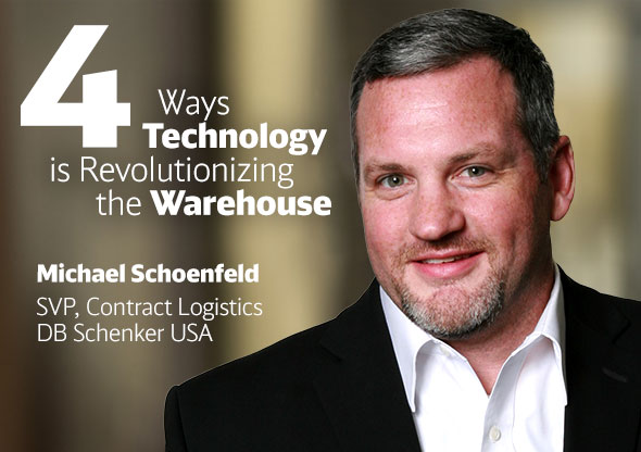 Michael Schoenfeld, SVP Contract Logistics DB Schenker USA