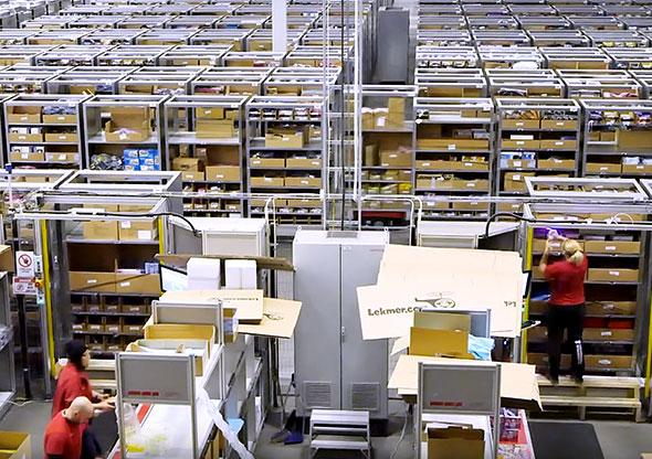Modern DB Schenker Warehouse