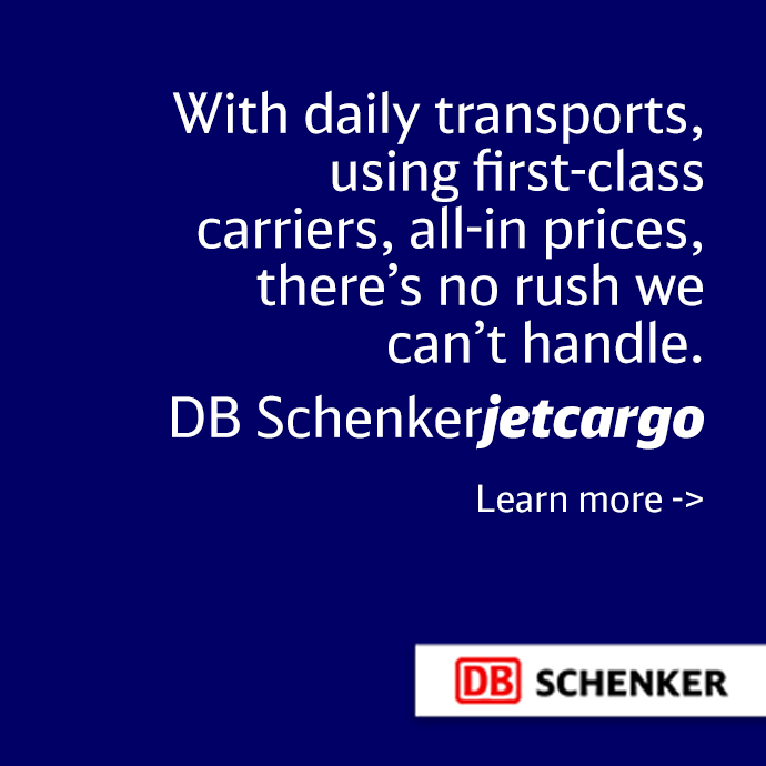 DB Schenker jetcargo: With daily transports, using first-class carriers, all-in prices, there