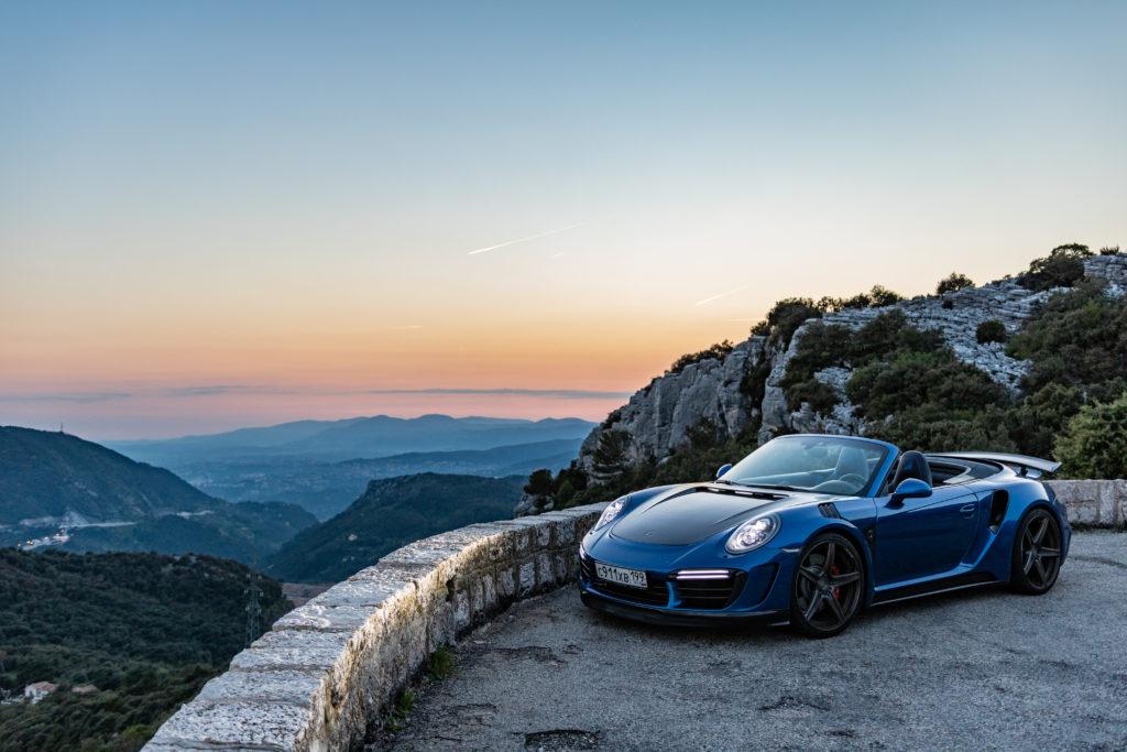Porsche- blue